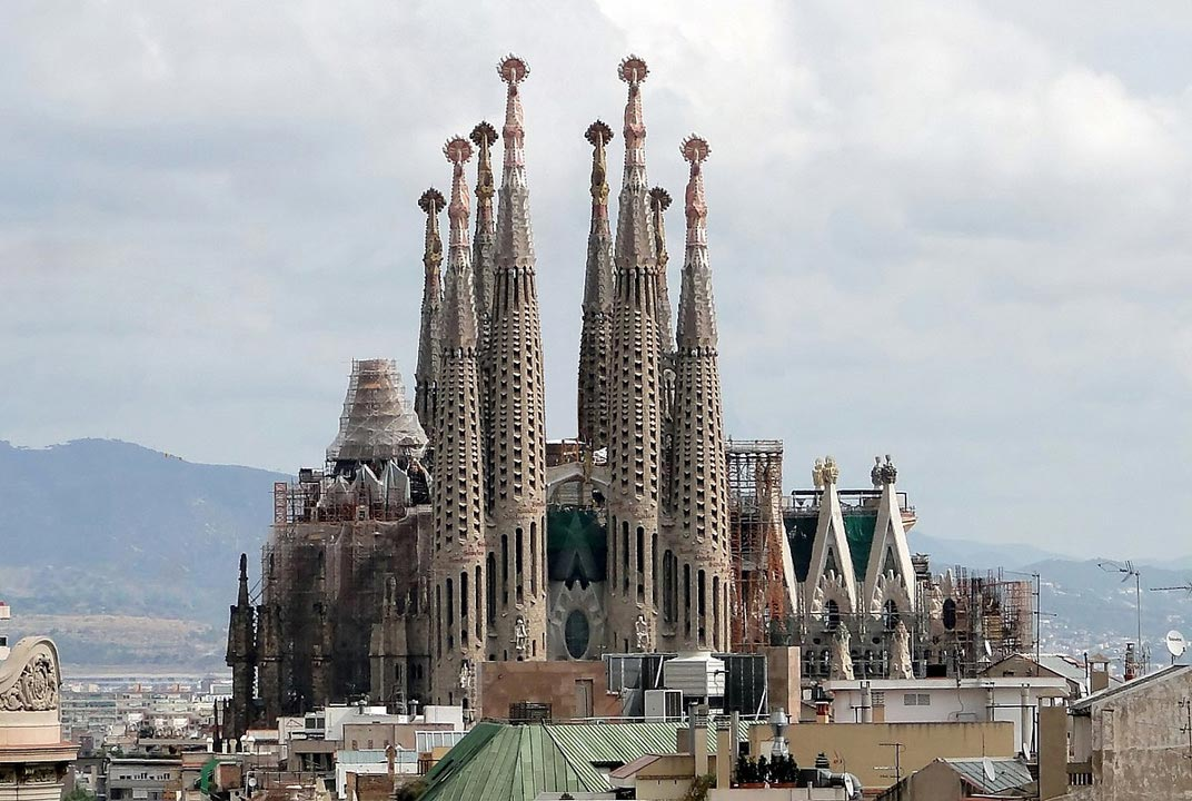 European city break destination Barcelona