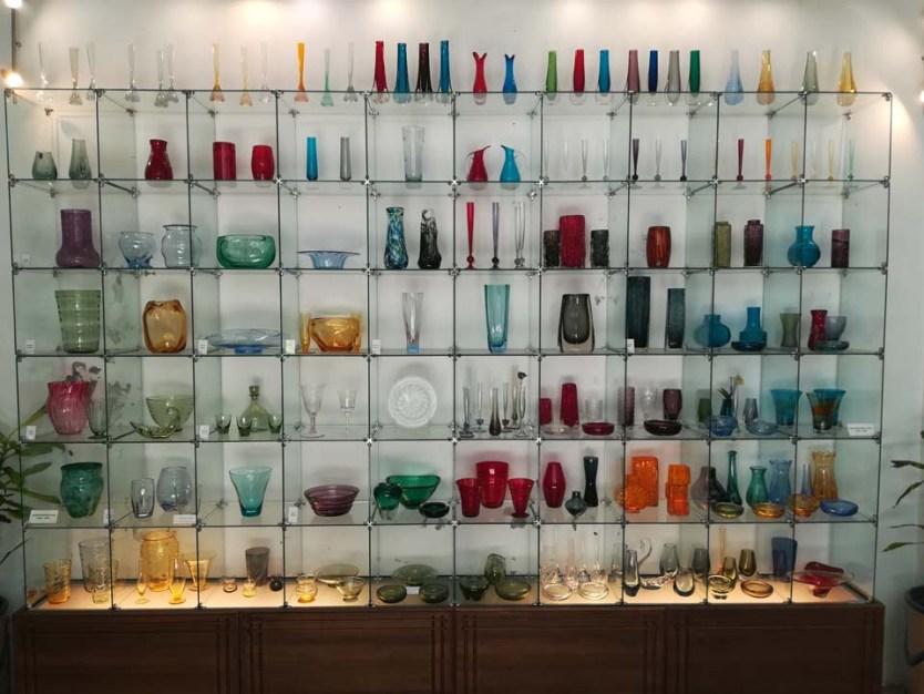Crystal & Glass Museum display