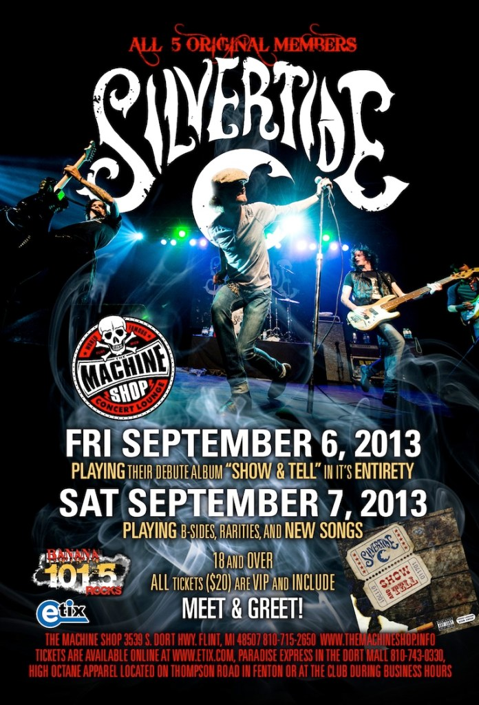 Silvertide-September-Shows