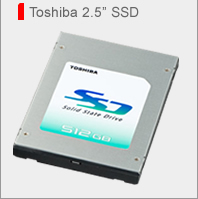 "Toshiba's New 2.5"" SSD from SSD.Toshiba.com"