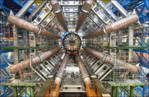 The Large Hadron Collider/ATLAS at CERN by Image Editor (cc) (from flickr)