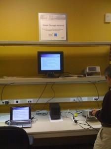 SNIA Green Storage Initiative display station