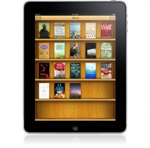 Apple's iPad iBook app (from Apple.com)
