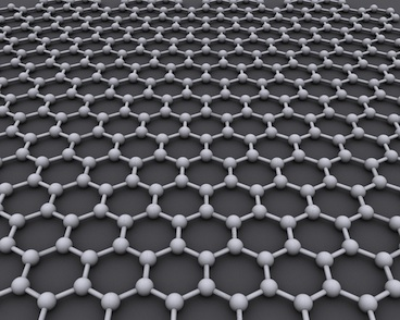 Model of graphene structure by CORE-Materials (cc) (from Flickr)