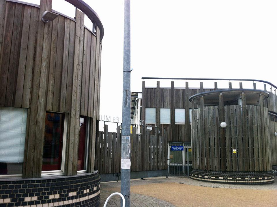 D02B – Millennium Primary School Entrance
