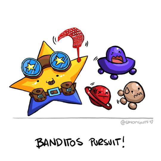 Matchy's Kooky Cookies Banditos!