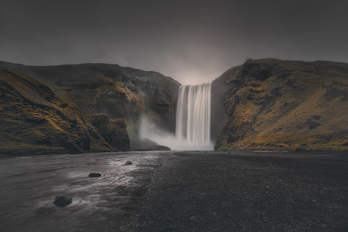 Iceland Black And White Photography Infrared Long