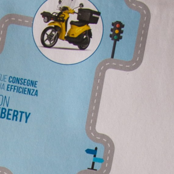Piaggio Direct Mailing Liberty Delivery