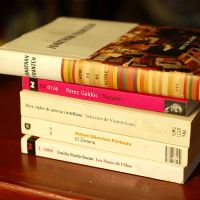 Don Quixote, Catherine, Lord Peter,& Madame Bovary