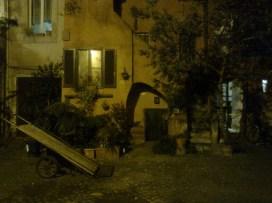 roma, ± campo de' fiori, piazza interno