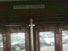 milano, tram, vietato scendere