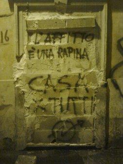 roma, pigneto, l'affitto è una rapina casa per tutti
