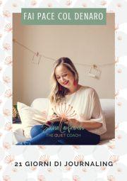 Una sfida di Journaling per migliorare il tuo rapporto col denaro - Silvia Lanfranchi