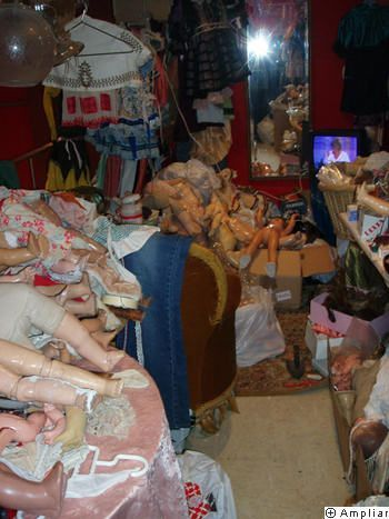 restauracion muñeco antiguo
