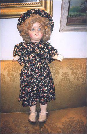 muñeca restaurada