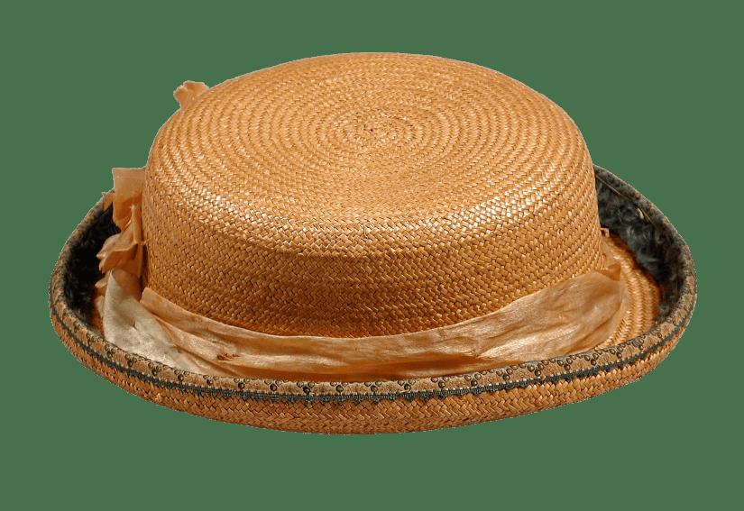 straw hat-tocados antiguos