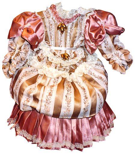 vestidos de muñeca antigua