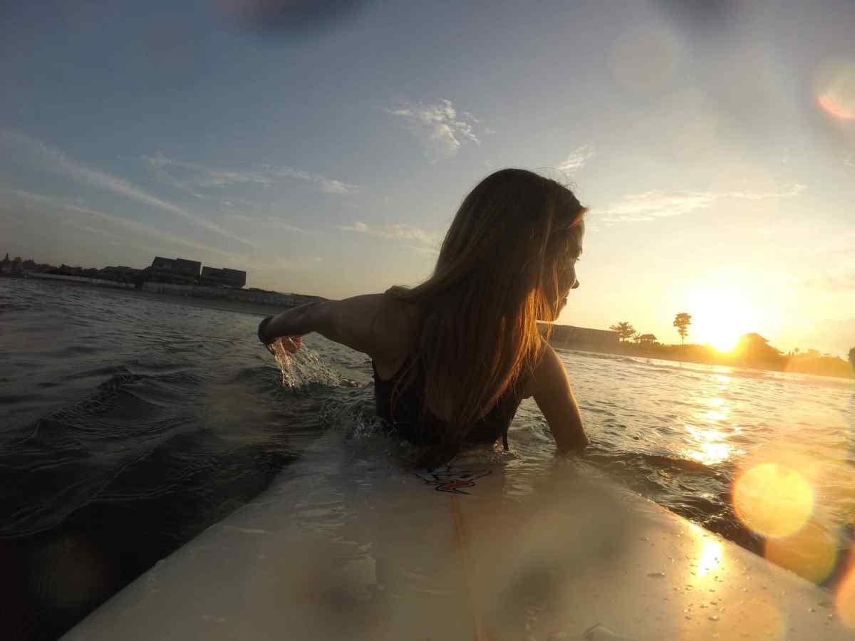 Ako som začala surfovať?
