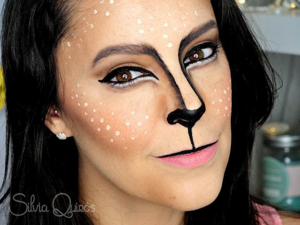 Cute Reindeer makeup tutorial  Silvia Quirs