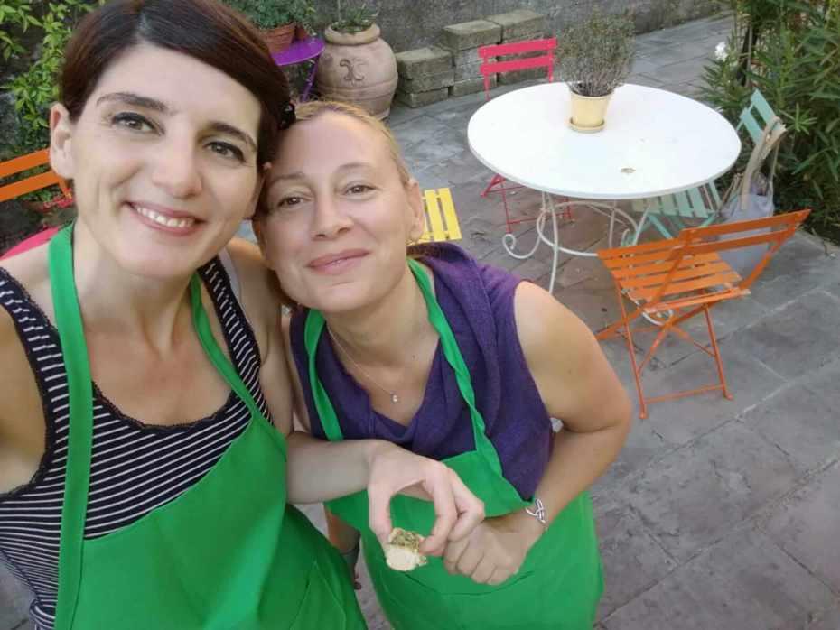 pesto cooking class in Levanto