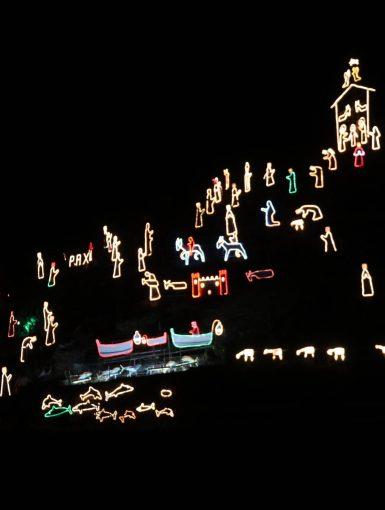Cinque Terre Lighting Nativity Scene