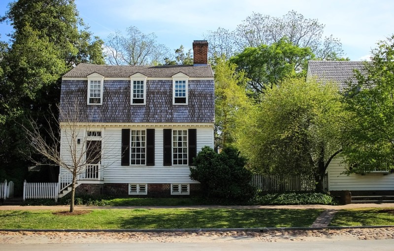 one day in Williamsburg, Virginia