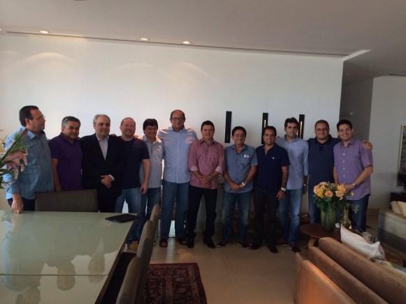 Deputados fecharam com Humberto em reunião, realizada na casa do pedetista