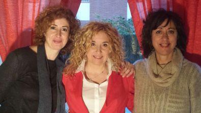 Junto con Maite Bayona, autora del libro Artesania del amor