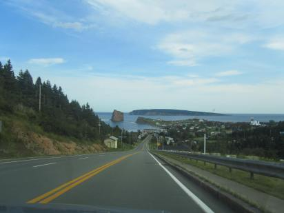 Approaching Percé