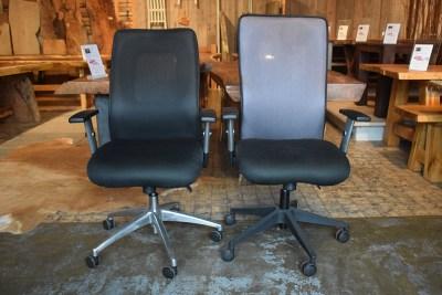 SW-113 bureaustoelen zwart