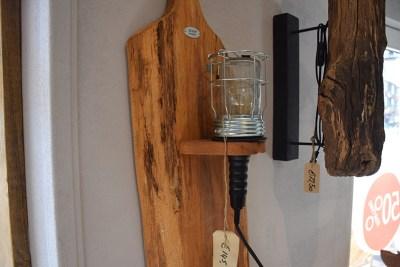 SW-127 wandlamp broodplank met looplamp