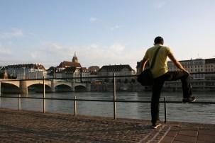 Rhine in Basel 2014