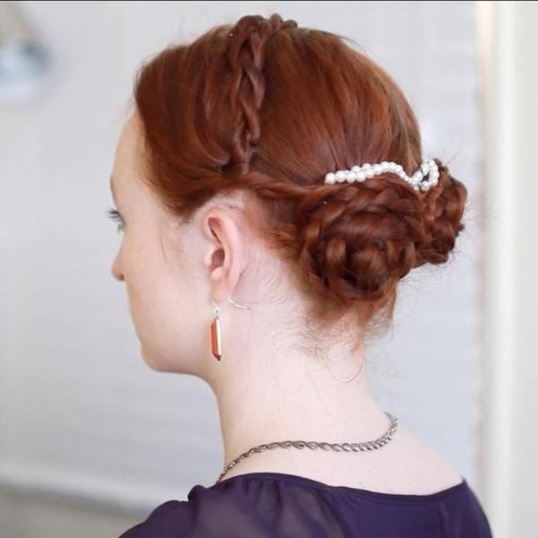how to tutorial for the Borgias hair