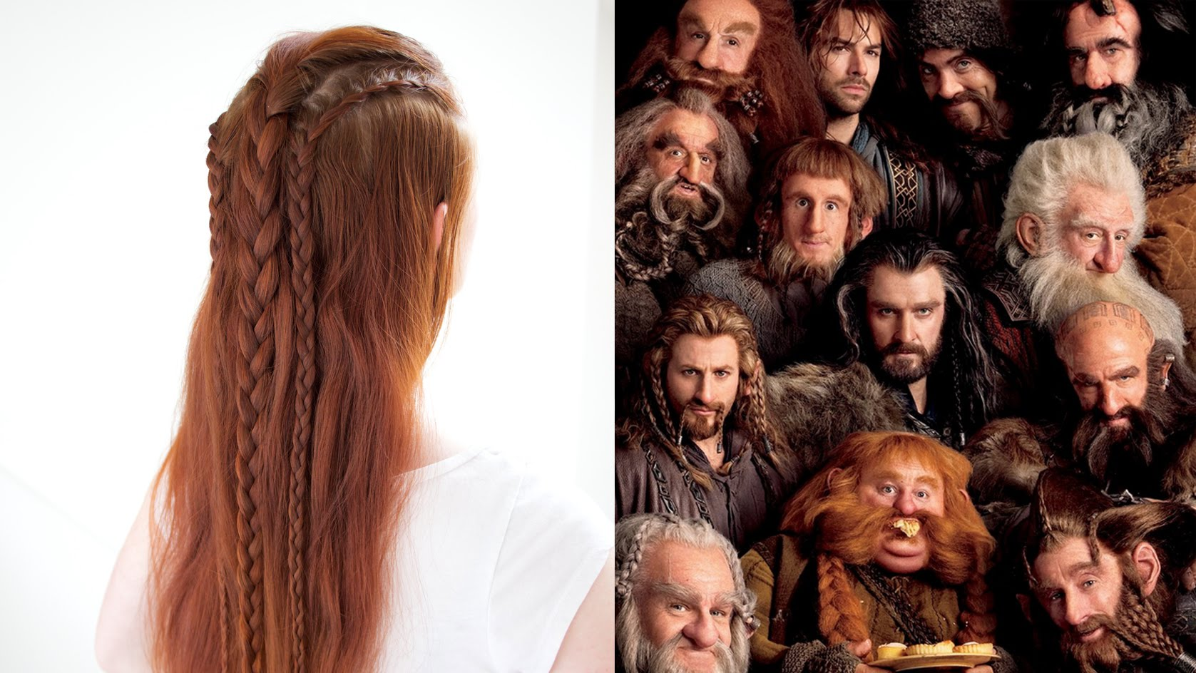 Silvousplaits Hairstyling Hair Inspired By The Dwarves In The