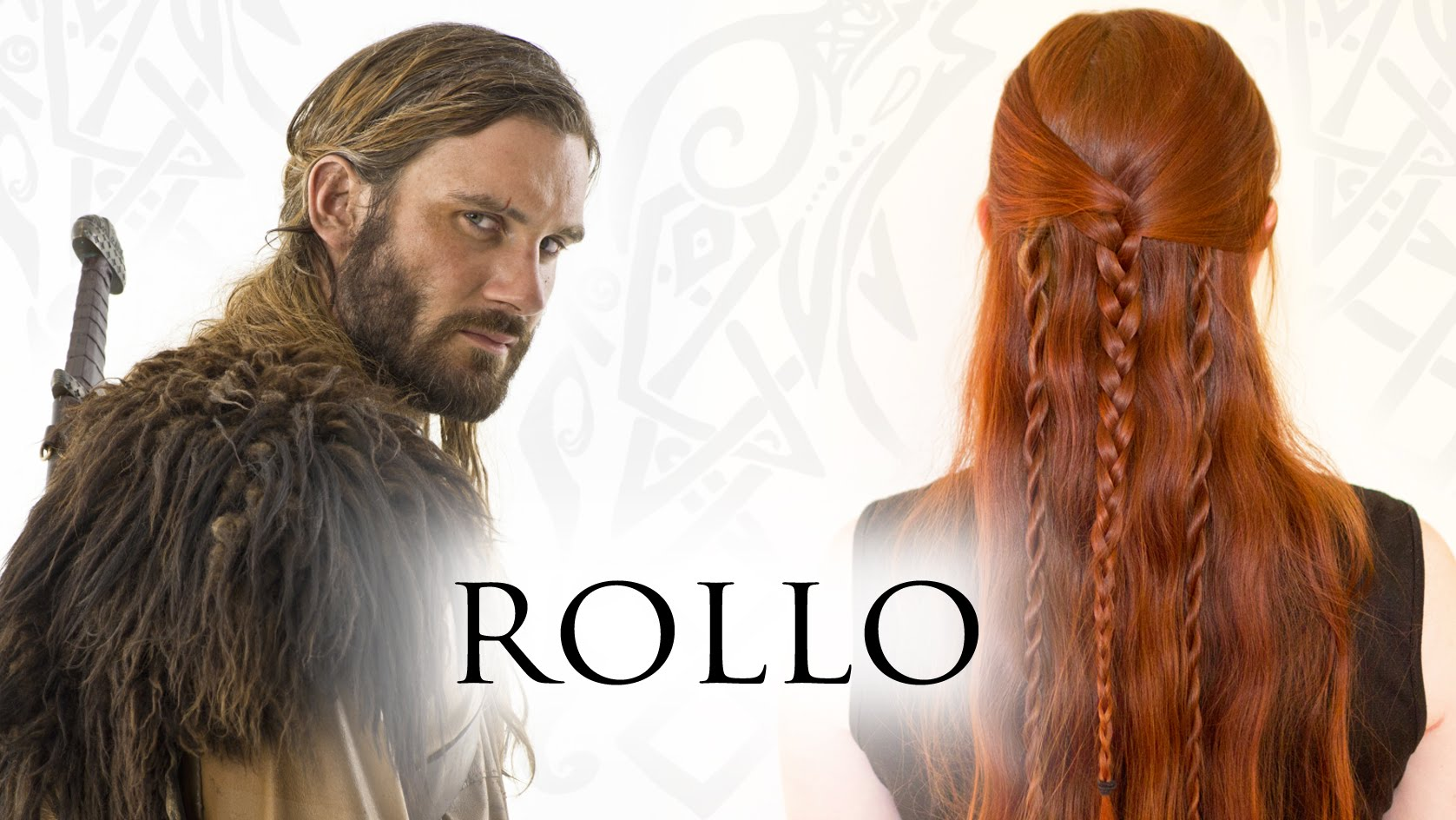 Men's Tutorial for Rollo in Vikings