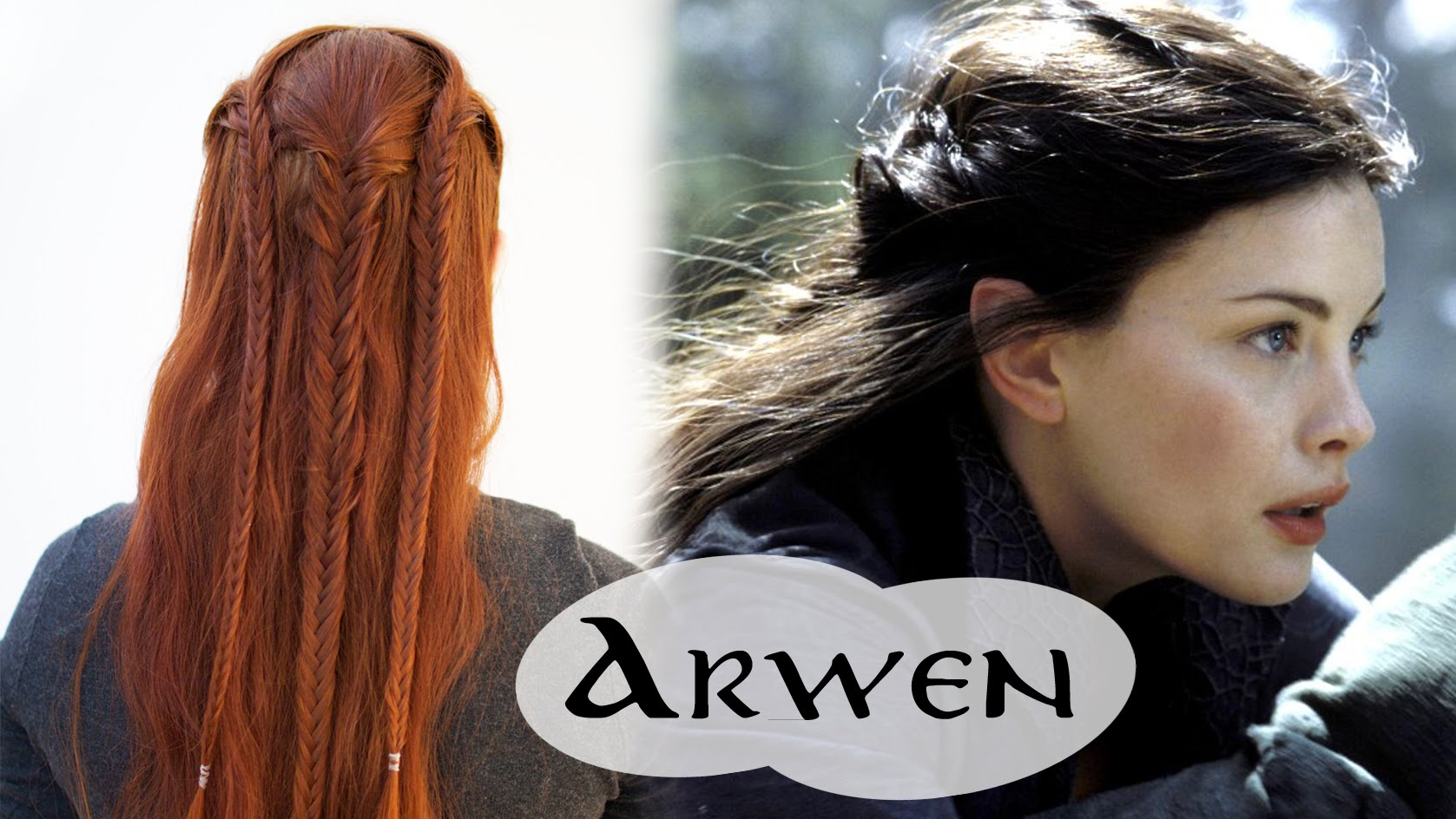 Arwen's Flight to the Ford Braided Hair