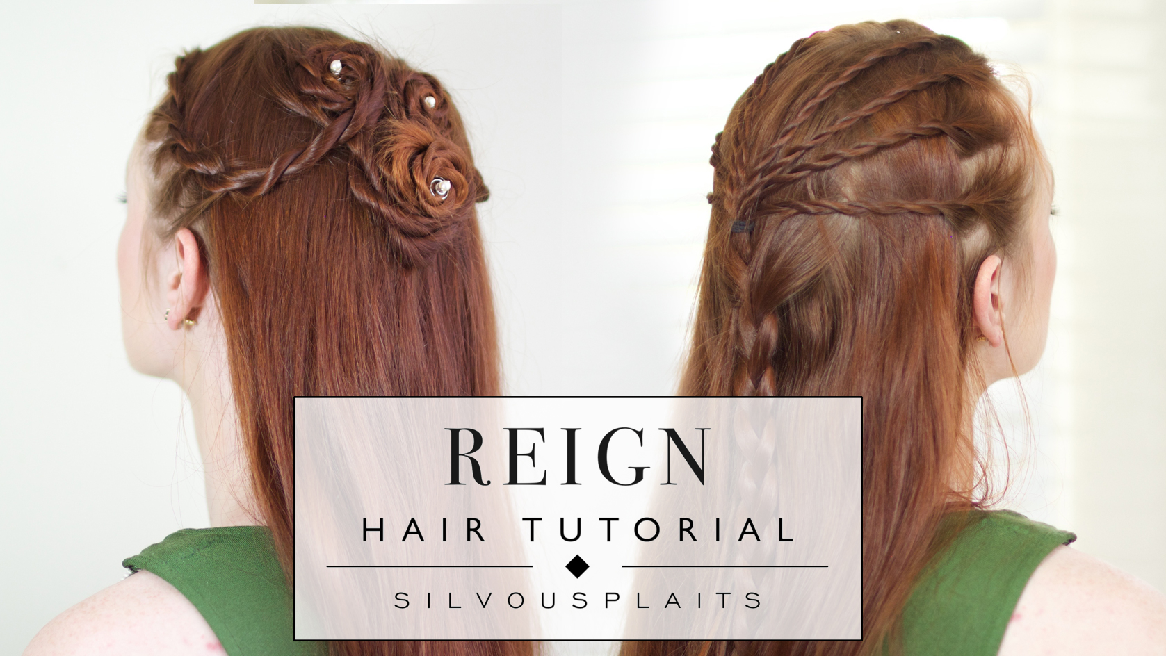 Reign Hairstyle Tutorial