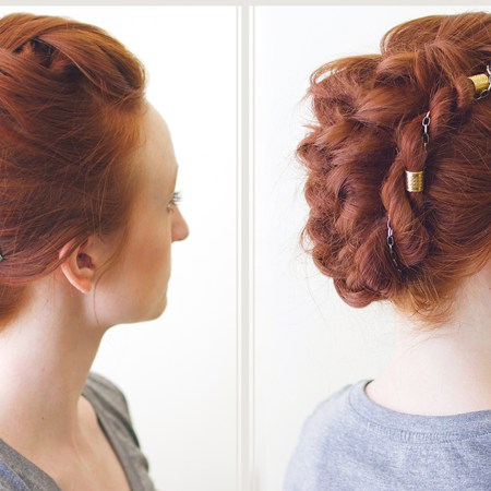 Versatile Braid Mohawk Hairstyle