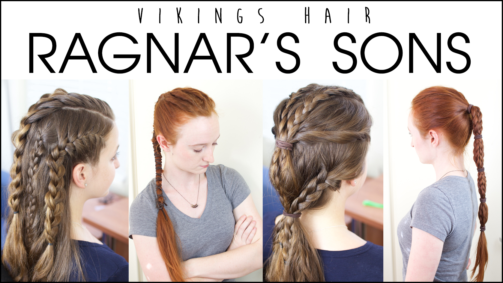 Silvousplaits Hairstyling Vikings Hairstyles Worn By Ragnars Sons