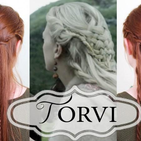 Vikings Hairstyling – Tutorial for Torvi's Basketweave Braid