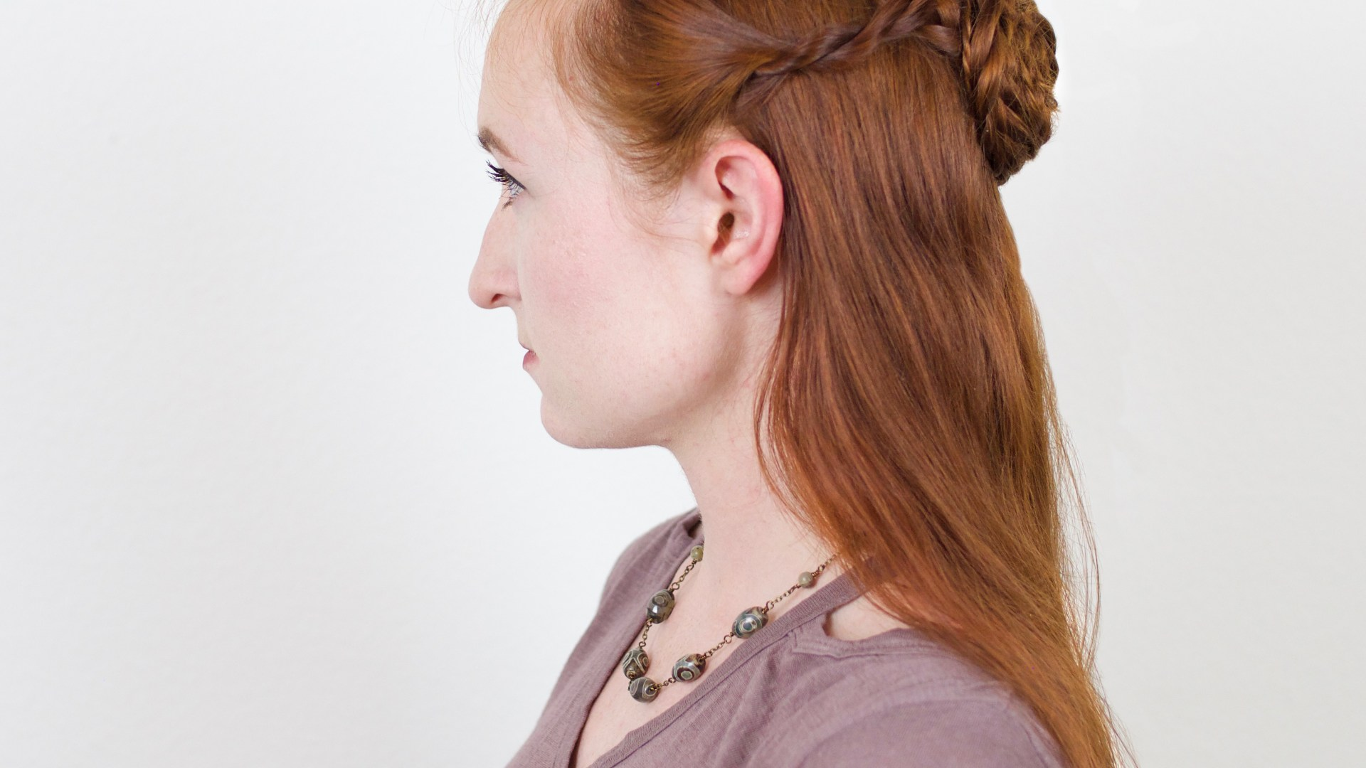 Silvousplaits Hairstyling Sansa Lady Of Winterfell Hairstyle In