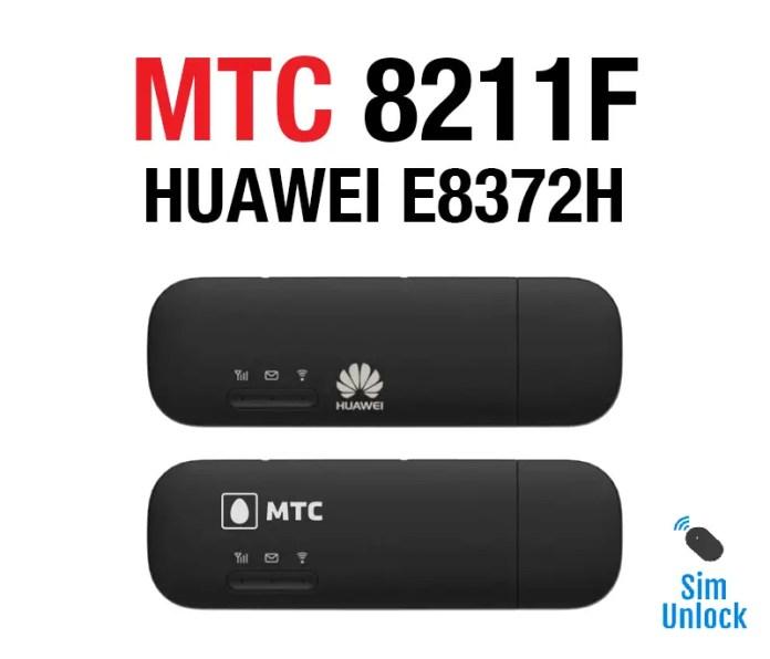 MTS Russia Huawei E8372H-153 Free Unlocking [Firmware 21 316