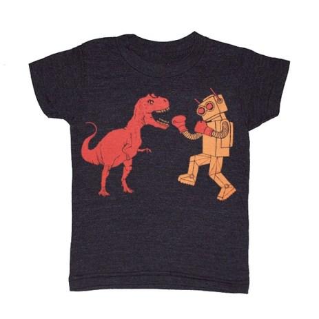 high_resolution_kids_dinosaur_vs_robot_tshirt_tee gnome