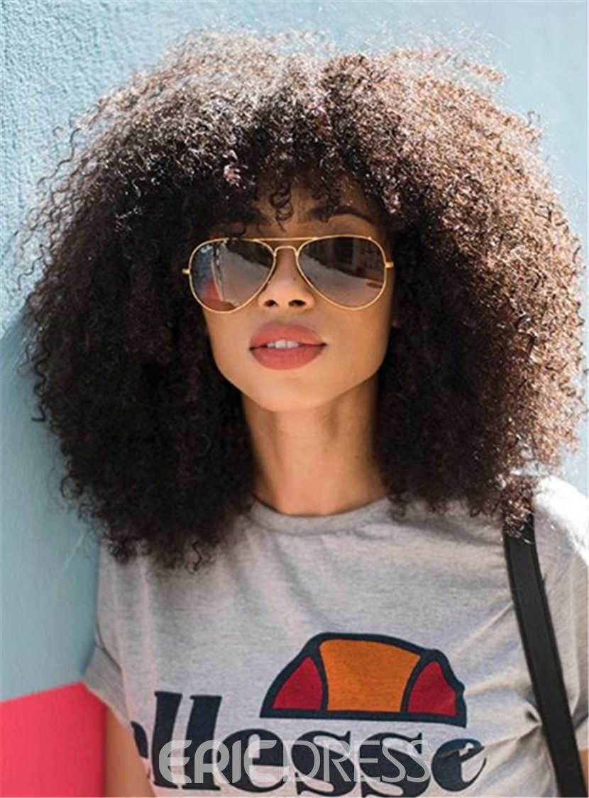 Ericdress Natural Curly Kinky African American Synthetic Hair