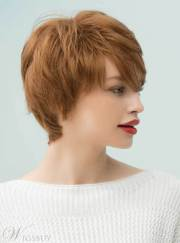 mishair graceful short feathered