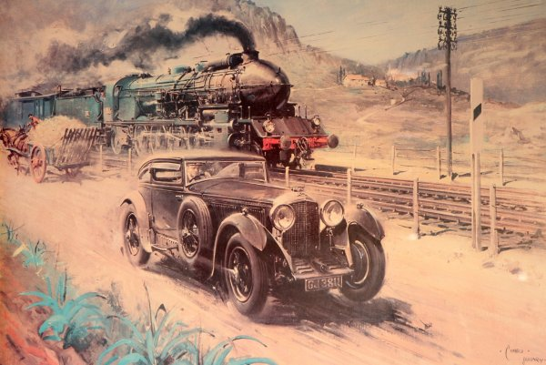 Barnato Blue Train Bentley Simanaitis