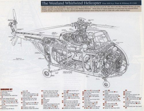 small resolution of the westland whirlwind image from 1950s british classic cutaways