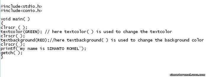 আসুন জানি C programming এর খুটিনাটি