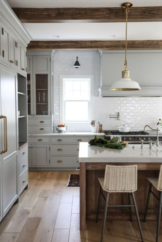 Kitchen cabinetry and color scheme inspo via Park & Oak // Sima Spaces Kitchen renovation