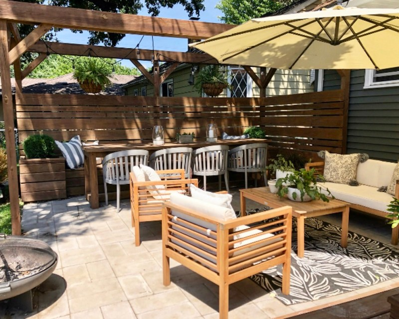 Eyesore to Outdoor Oasis: Sima Spaces Patio Makeover